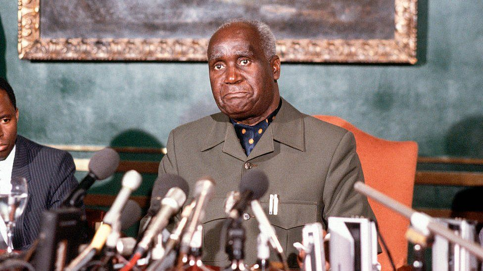 File image of Kenneth Kaunda