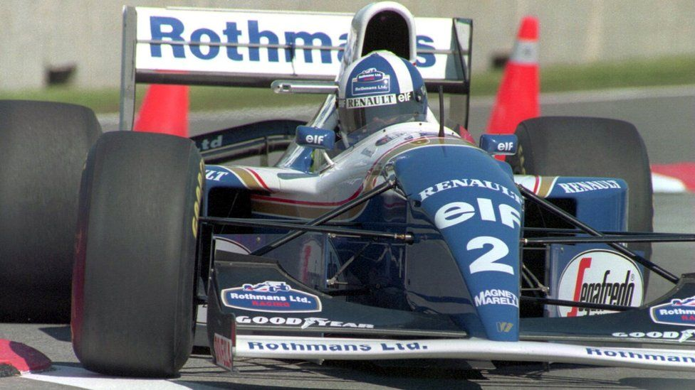 David Coulthard at Canadian Grand Prix in 1994