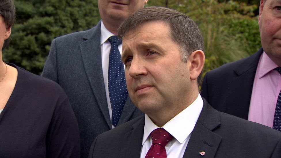 UUP leader Robin Swann said he will discuss the decision with DUP leader Arlene Foster on Monday