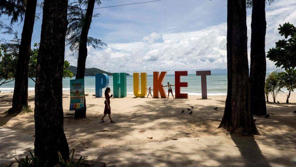 Patong Beach in Phuket