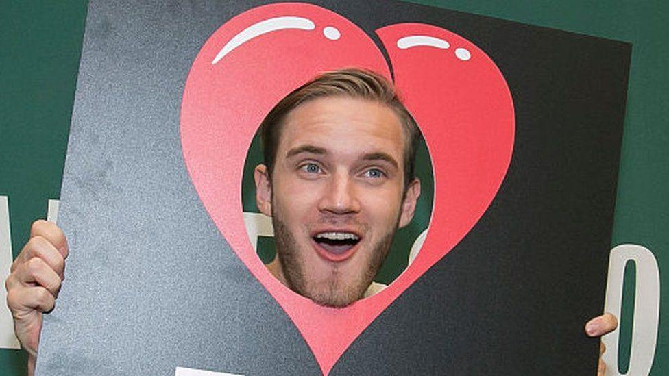 YouTuber PewDiePie