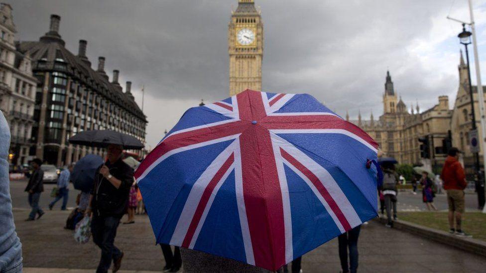 Union flag umbrella