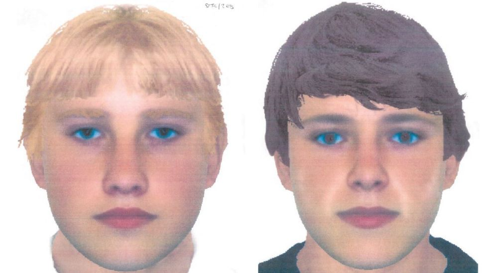 E-fits of the two boys described by Carl Beech