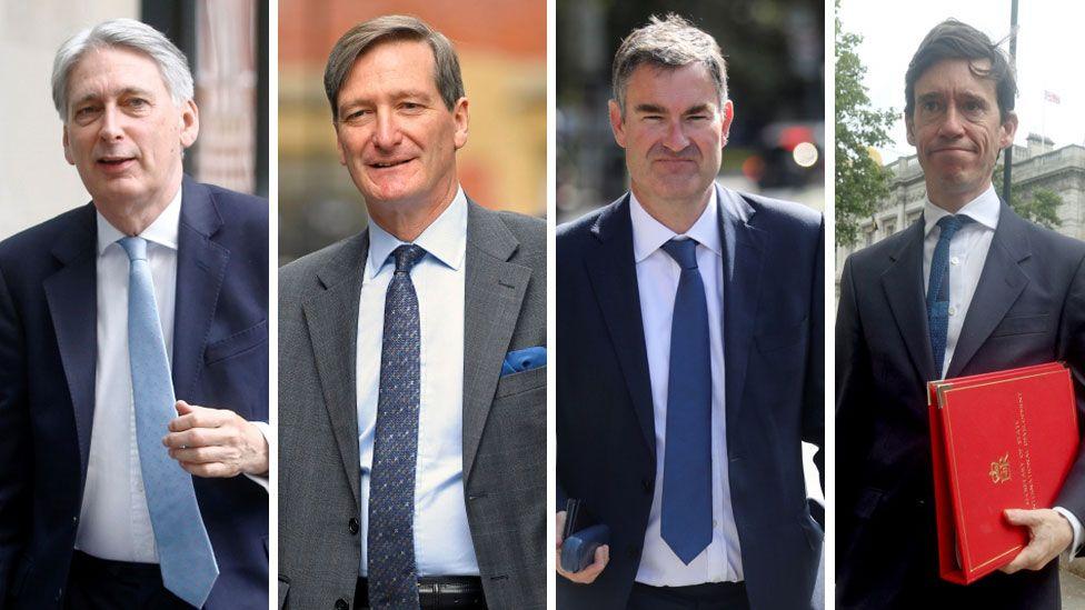 Philip Hammond, Dominic Grieve, David Gauke, Rory Stewart