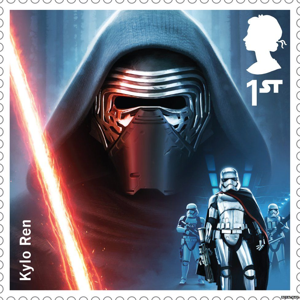 Kylo Ren stamp