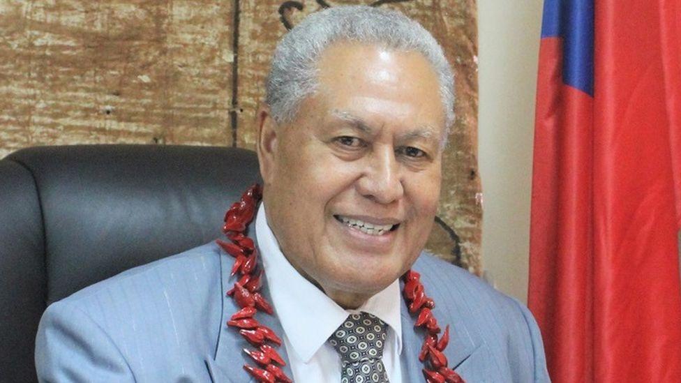 Samoan head of state Head of state: Va'aletoa Sualauvi II