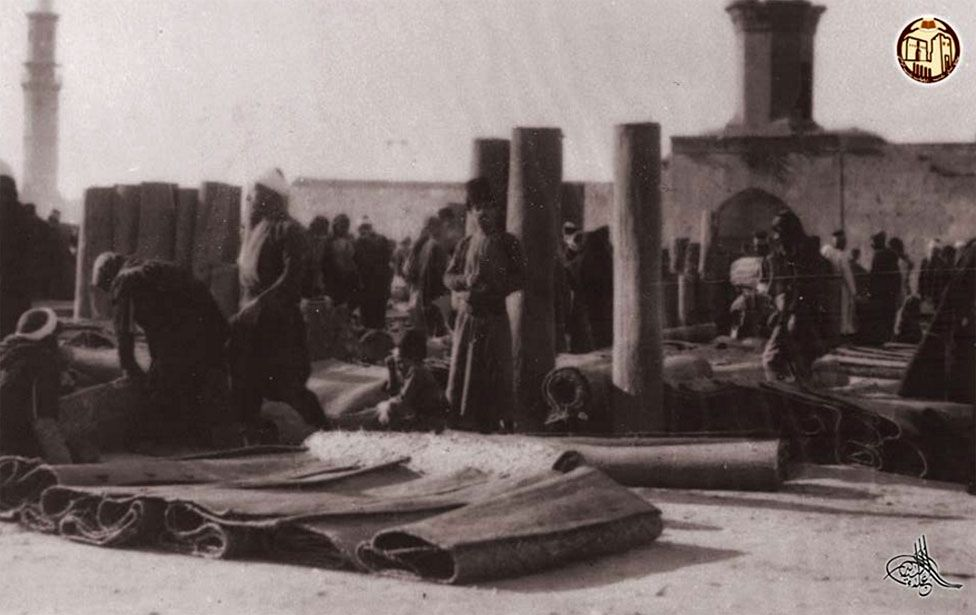 Picture of carpet market
