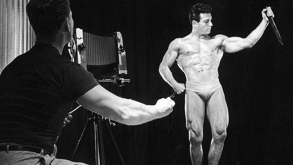 Photographer and bodybuilder