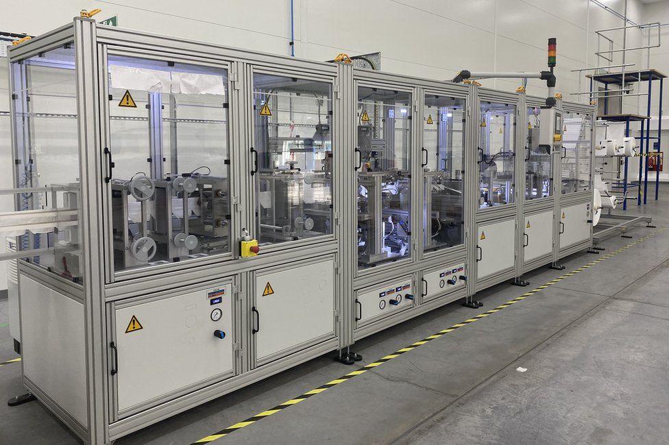 QE Facilities FFP3 mask making facility