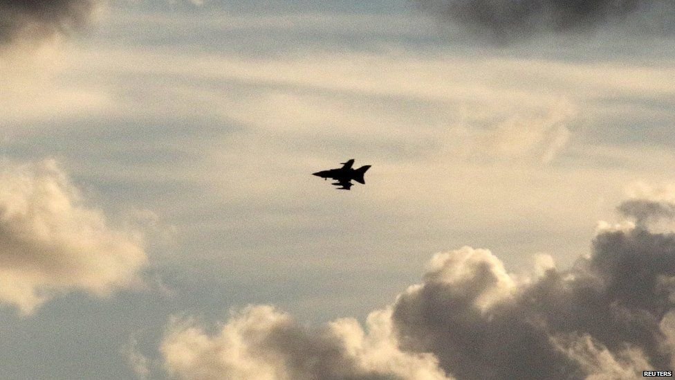 RAF Tornado jets will carry out further strikes in Syria