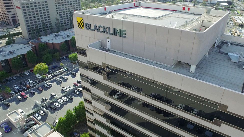 BlackLine's headquarters in Los Angeles