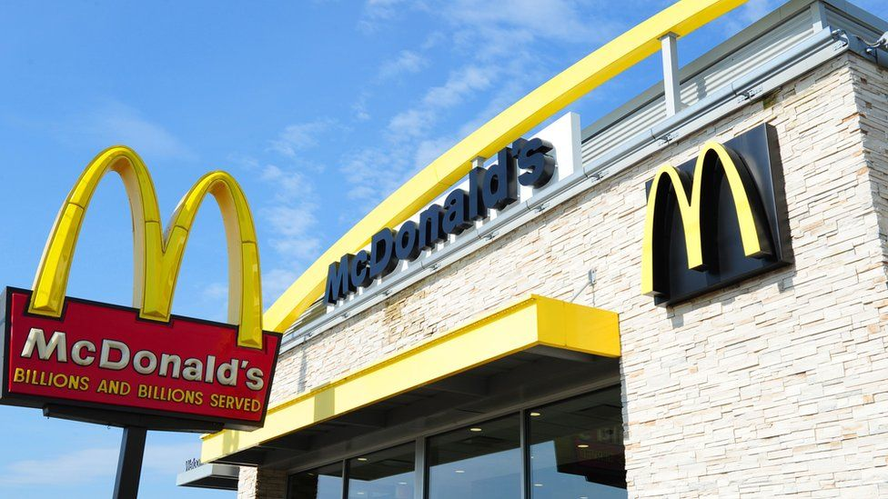 A McDonald's franchise