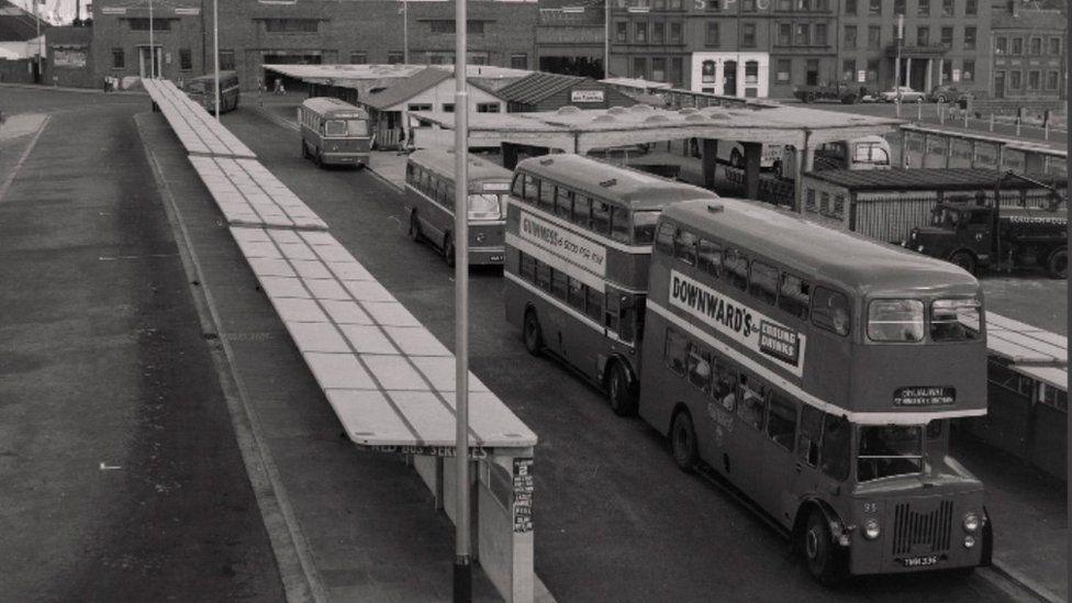 Lord Street Bus Station, Douglas