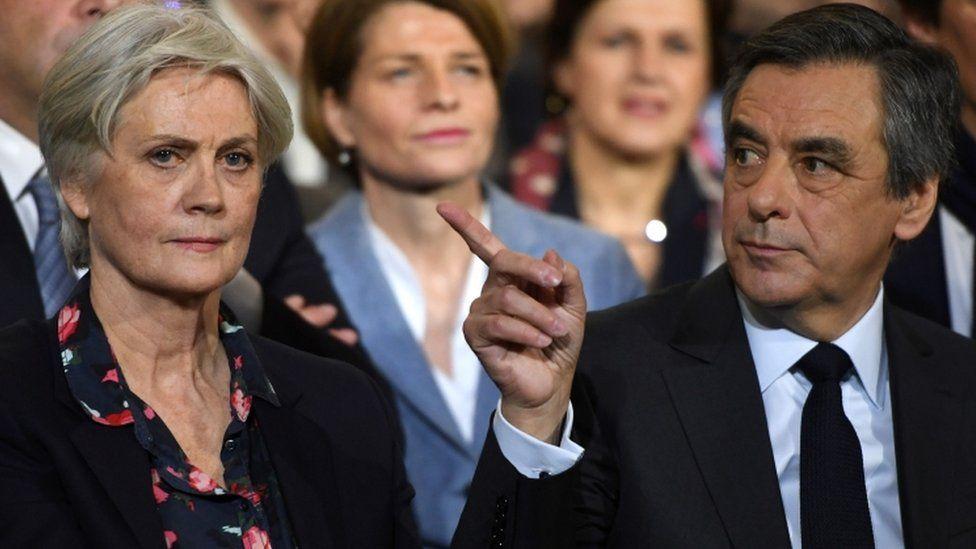 Penelope and Francois Fillon