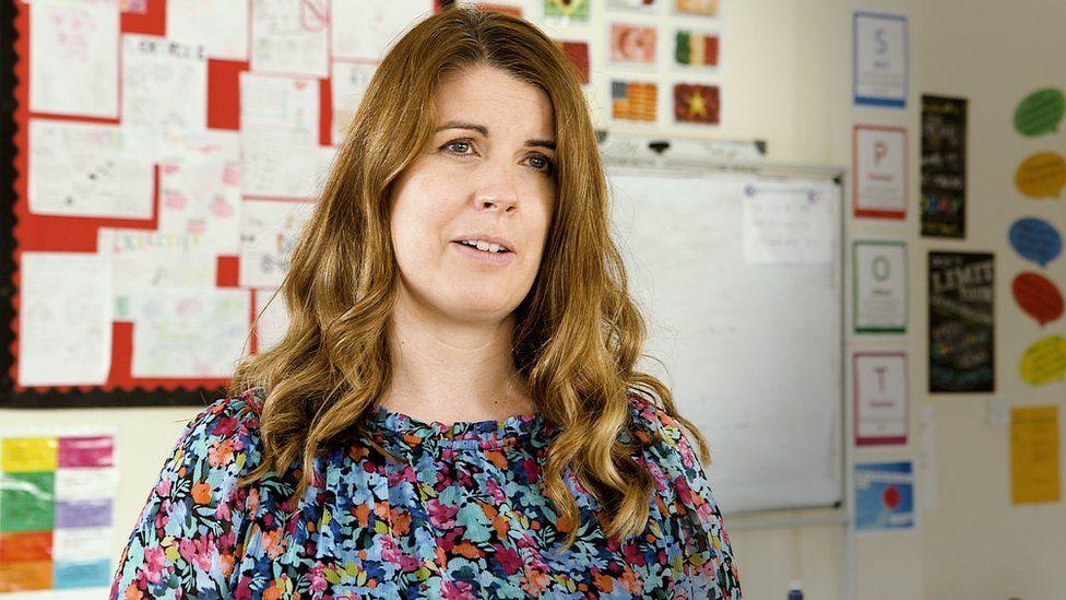 Teacher Sarah Reardon