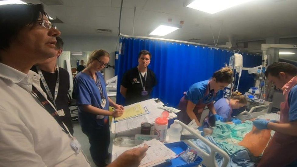 Medical staff have involved 54 patients from Wales in the cooling trial