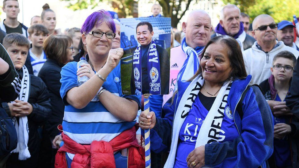 Leicester City helicopter crash: Walk to honour victims