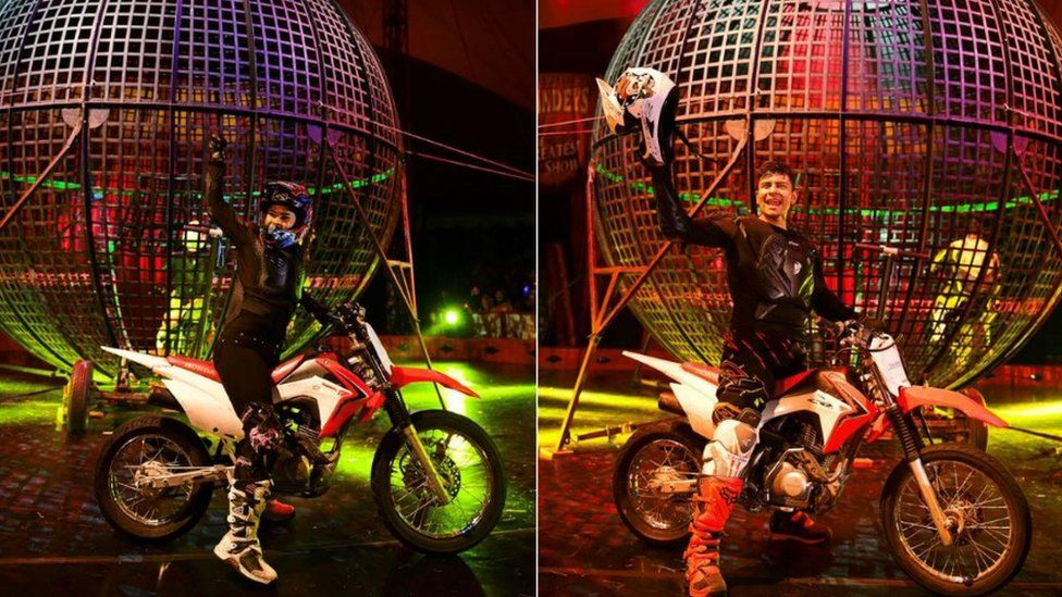 Gandeys Circus Thunder Dome bikes