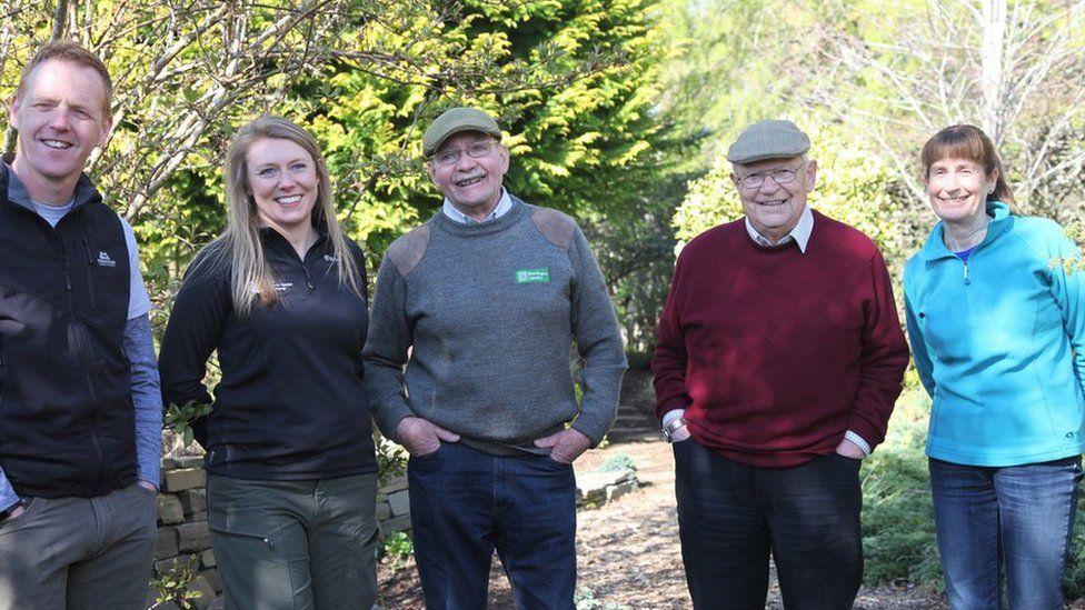 Cast of The Beechgrove Garden