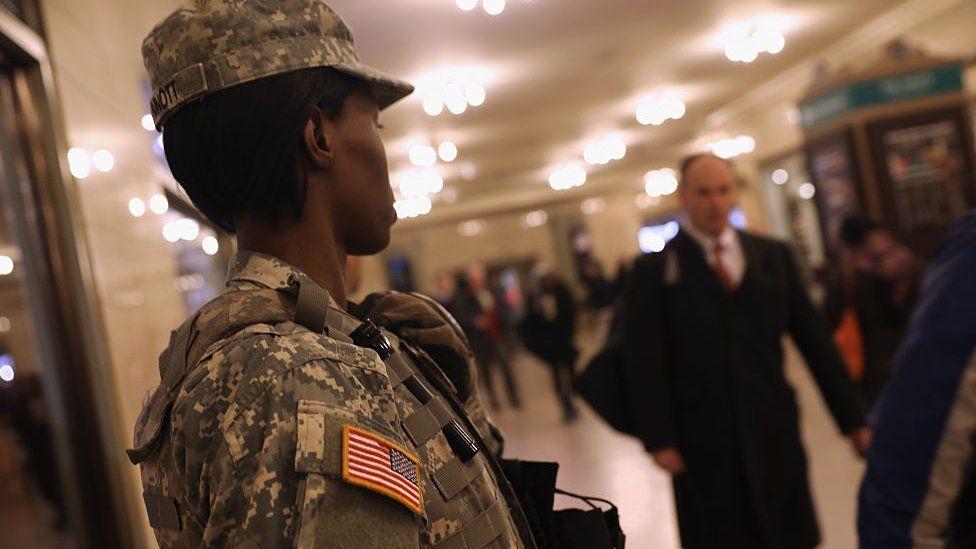 National Guard member