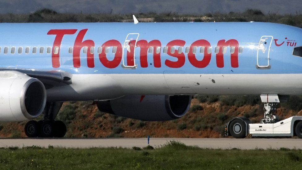 Thomson aircraft