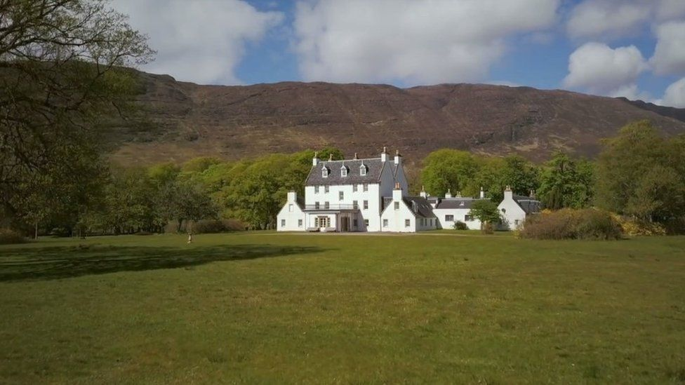 """Applecross House or the """"Big House"""" was the home of Lord Middleton"""