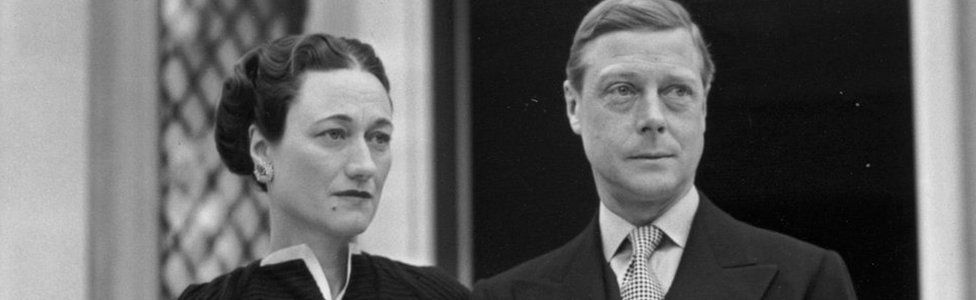 The Duke and Duchess of Windsor (formerly Edward VIII and Wallis Simpson)