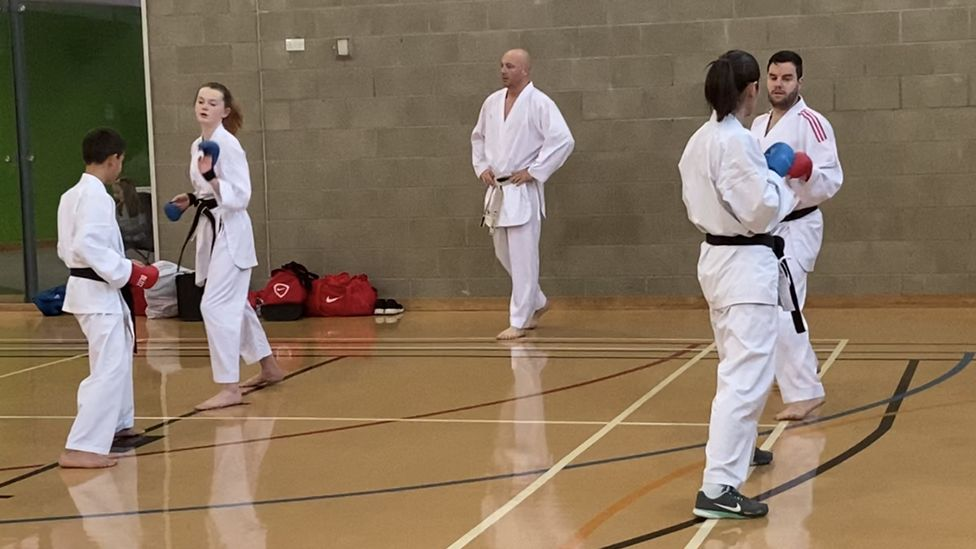 Instructor Ben Fail encourages women to fight men in training and in competitions