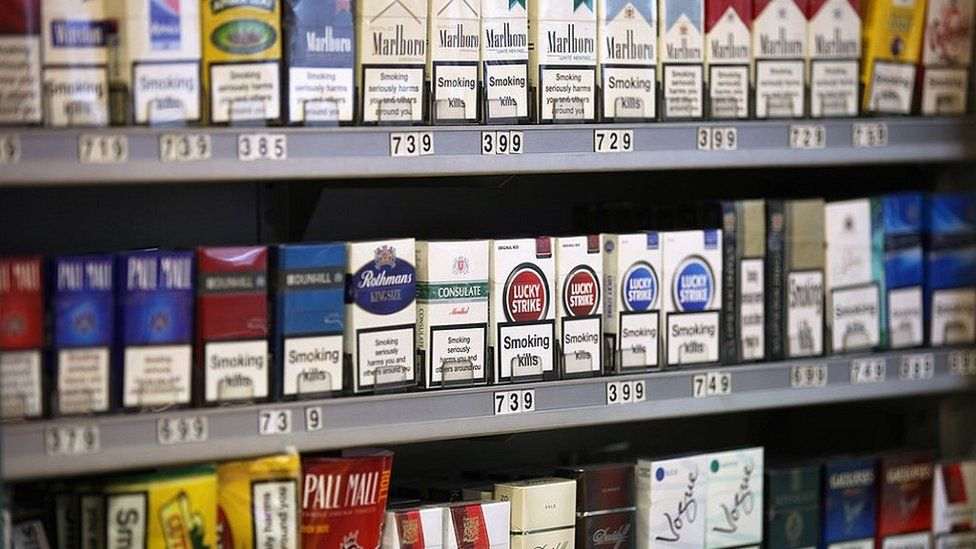 Cigarette display