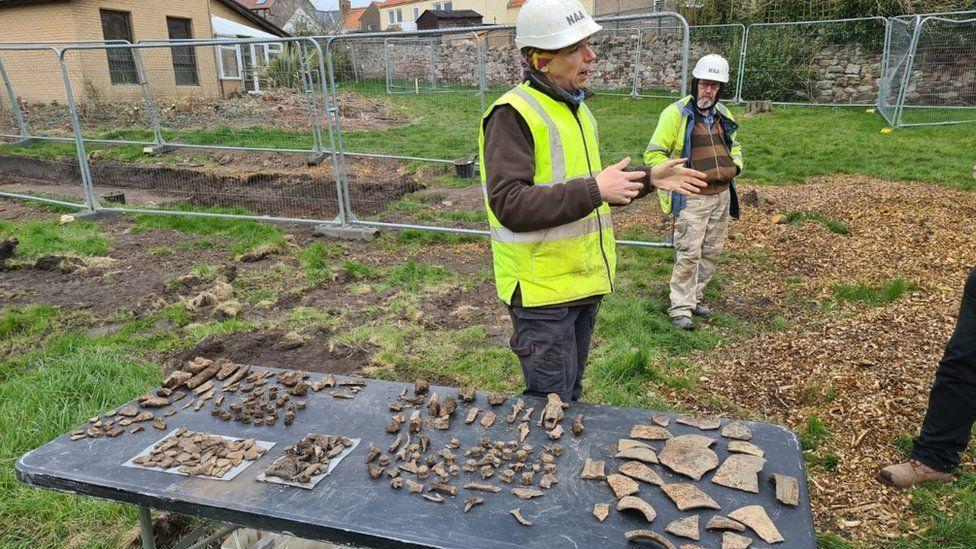 Medieval finds