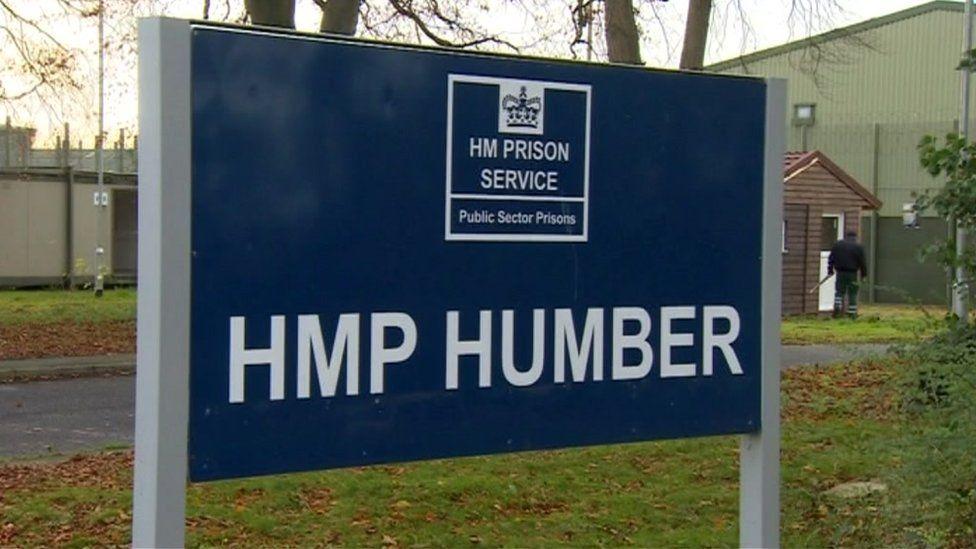 HMP Humber sign