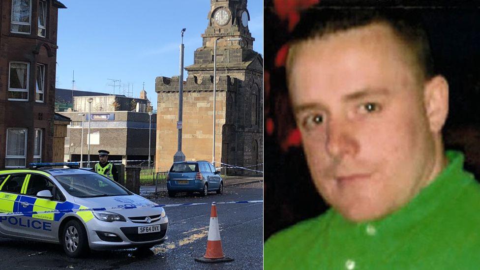 Owen Hassan was found injured in Shawlands