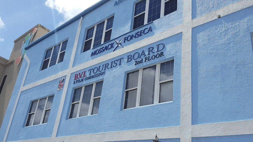 Mossack Fonseca office in the British Virgin Islands