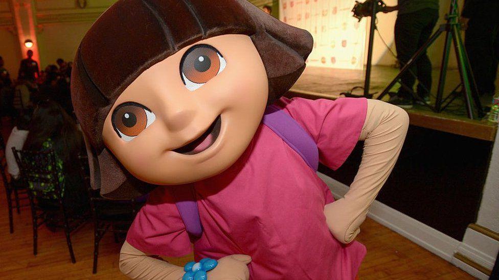 Nickelodeon character Dora the Explorer