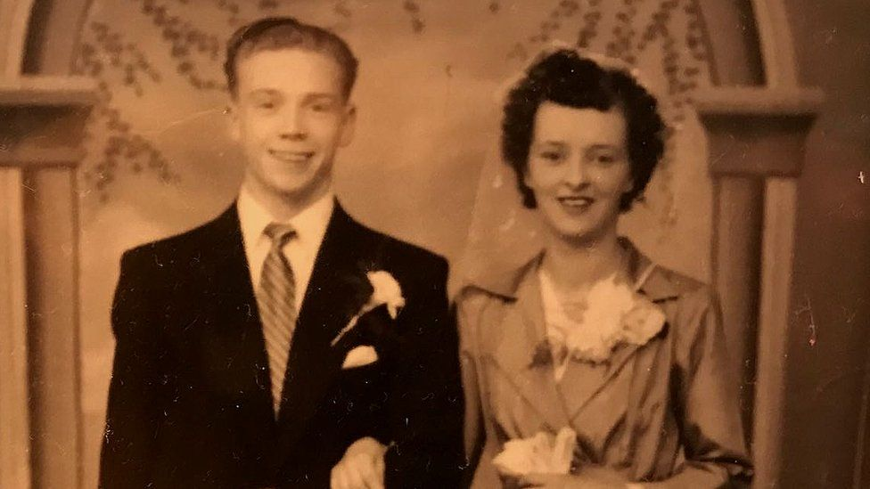 Henry Brown wedding photo