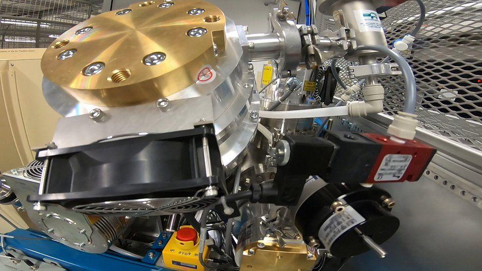 New Positive Ion Mass Spectrometry machine