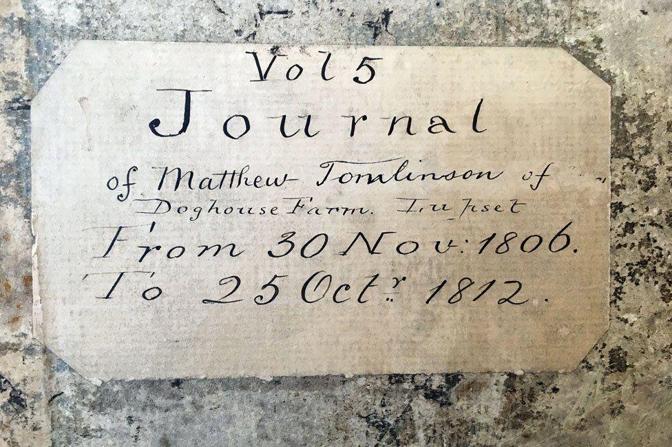 Tomlinson's diary
