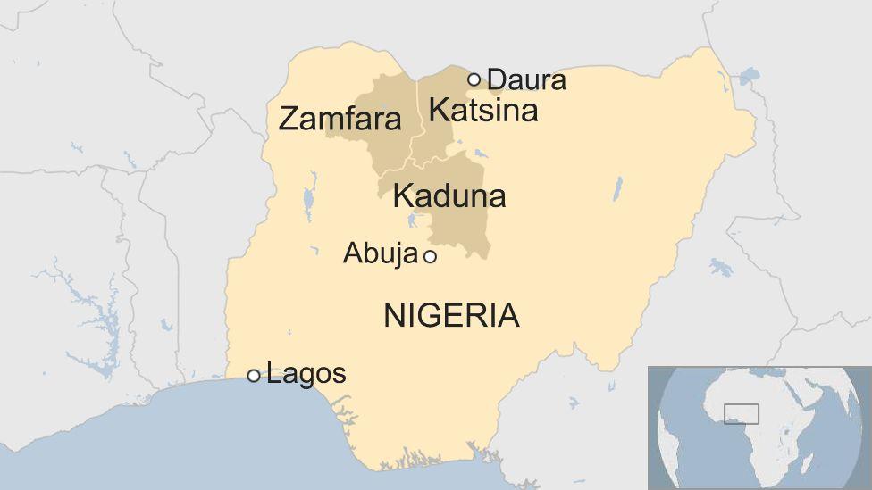 Map of Nigera