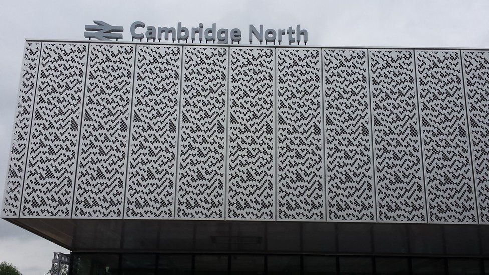 Cambridge North rail station
