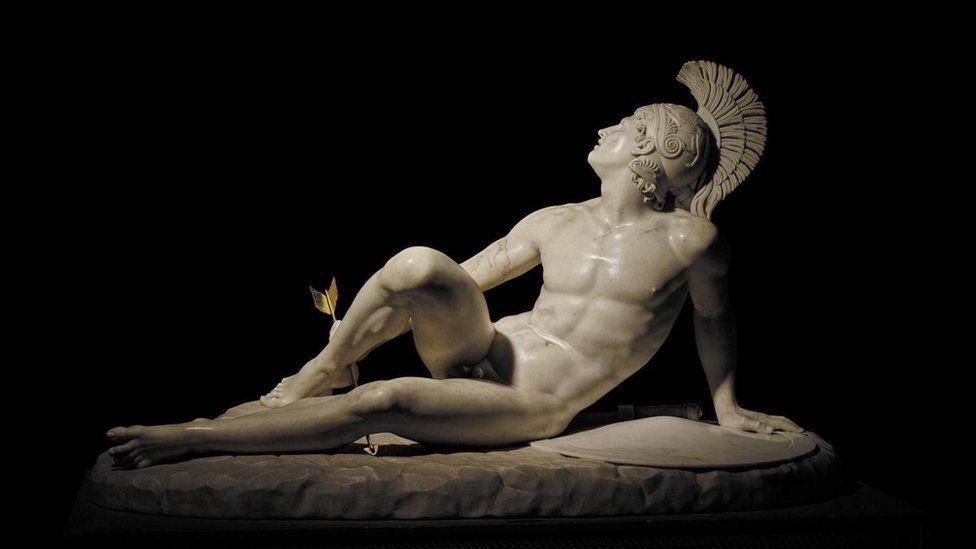 受伤的阿喀琉斯