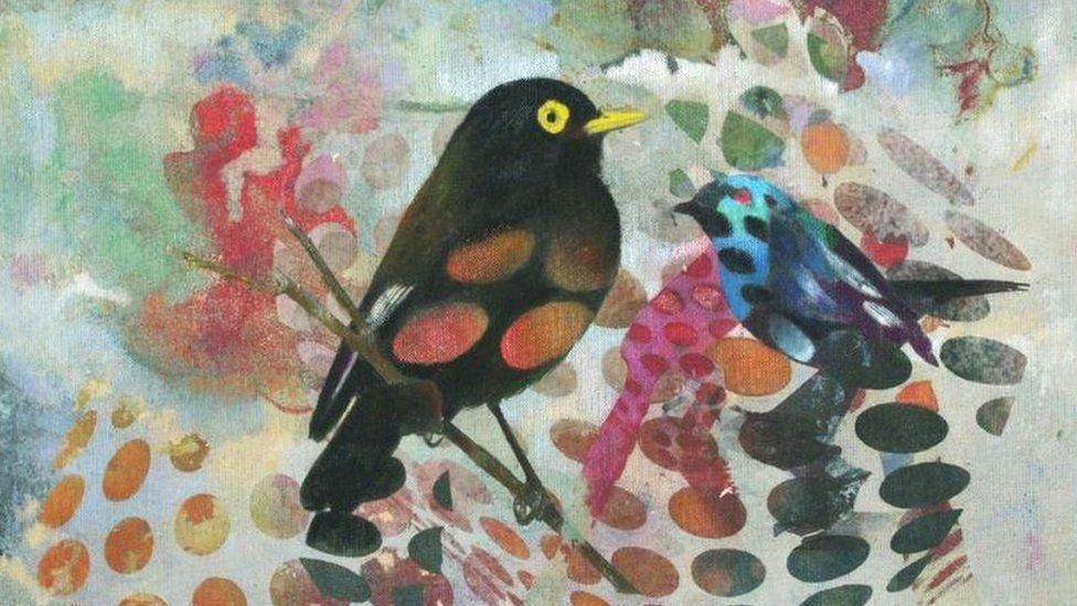 Birds 030 by Francisco Nicolas