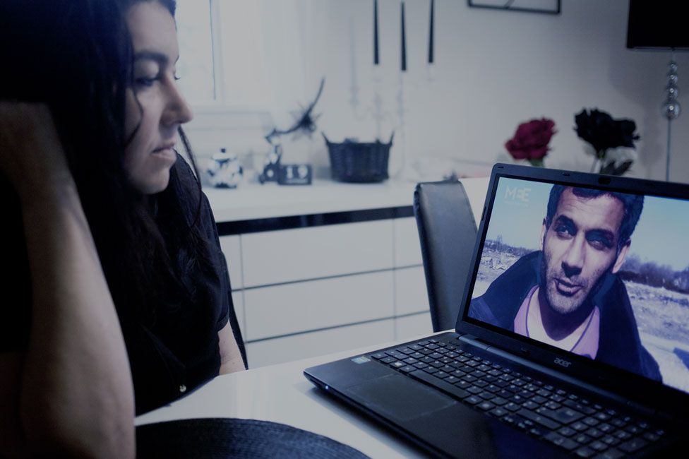Beatrice on Skype with Mokhtar