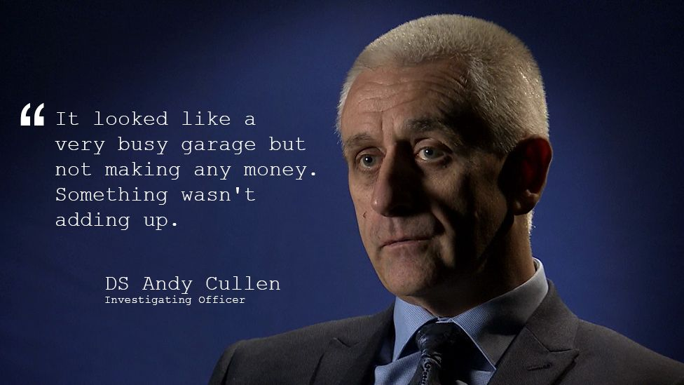 DS Andy Cullen who led the investigation