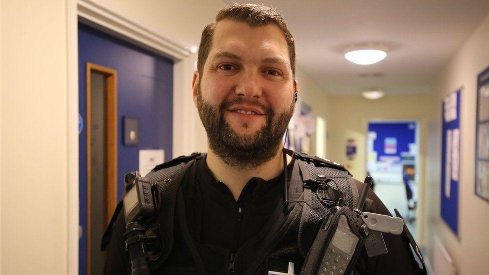 Special Constable James Scorey