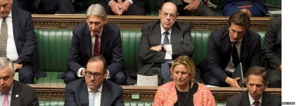 Sir Nicholas Soames (top row in the middle) is among the Tories to have the whip restored