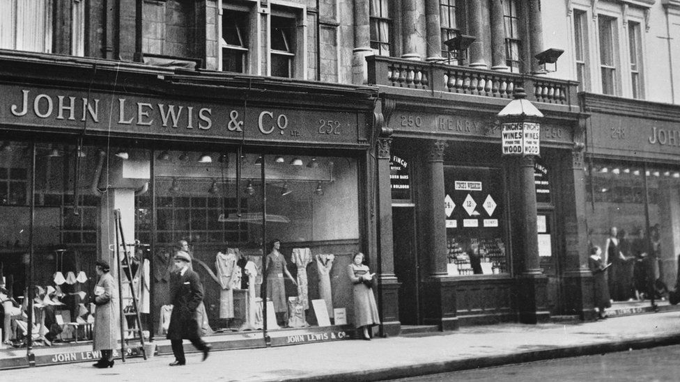 John Lewis store in 1936