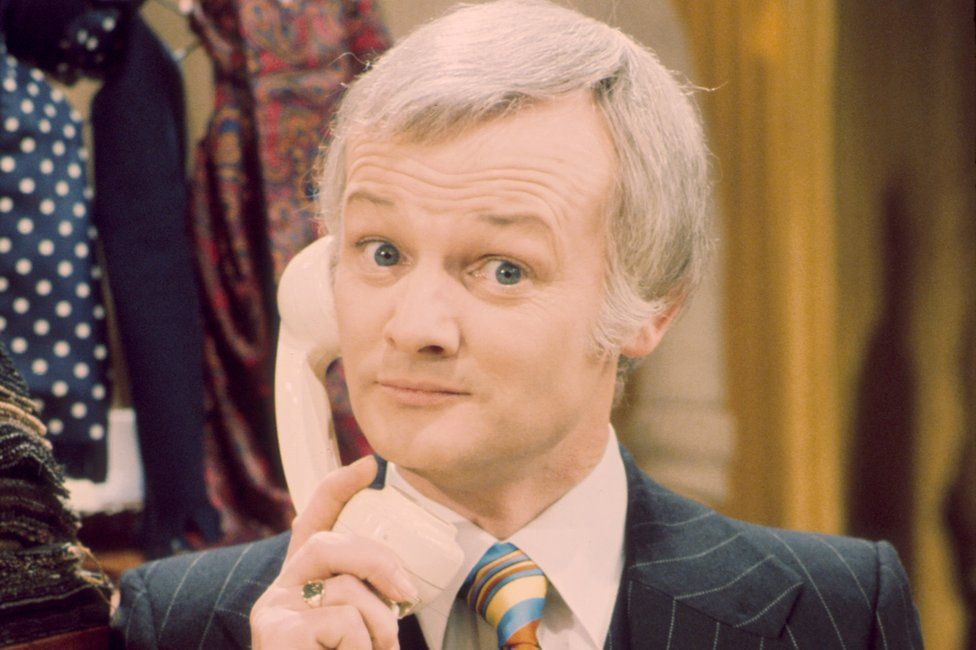 John Inman as Mr Humphries in Are You Being Served?