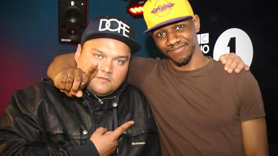 Charlie Sloth and Giggs