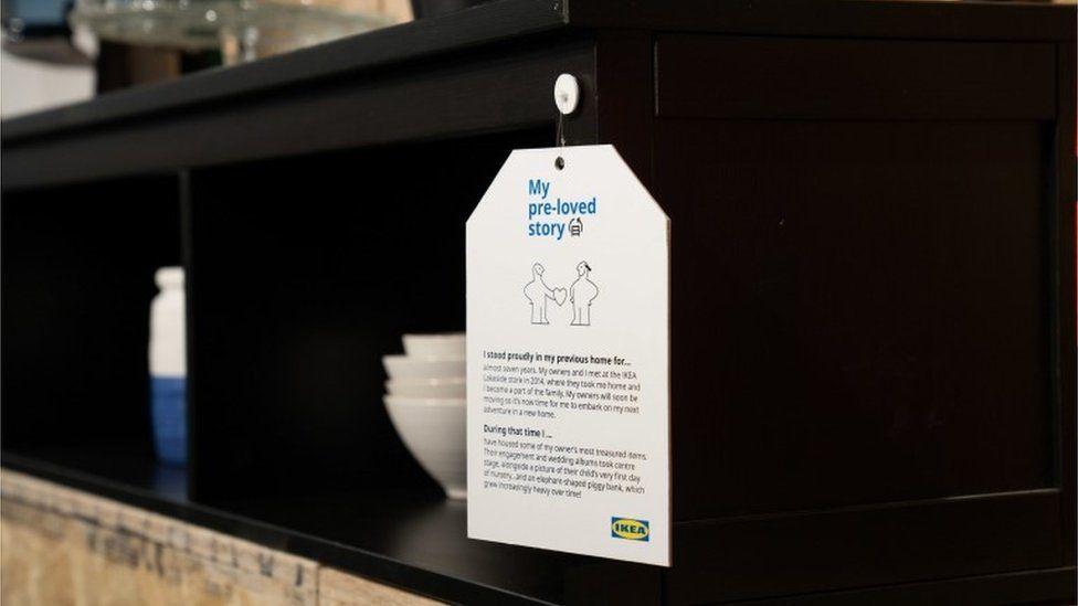 Ikea secondhand item
