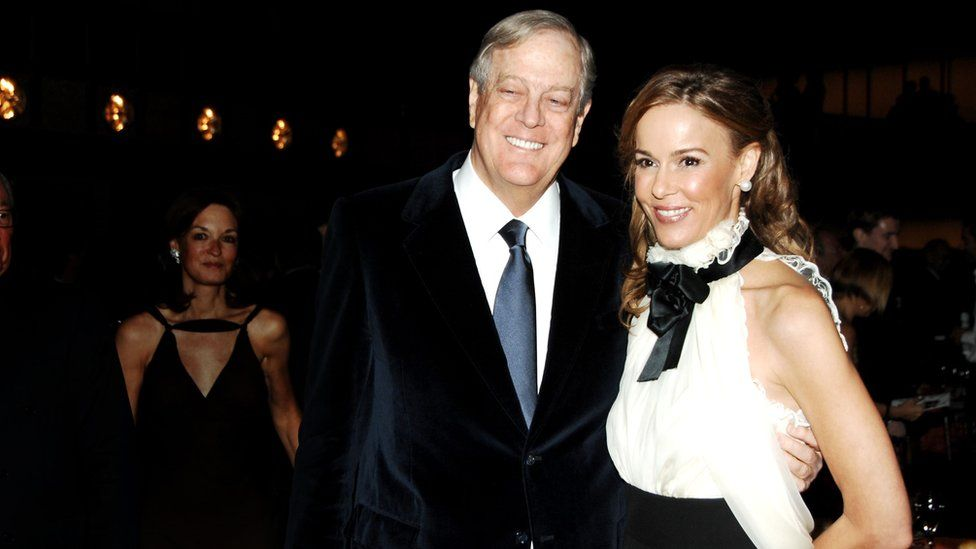 Charles David Koch We Know Who You Are >> Who Are The Koch Brothers Bbc News
